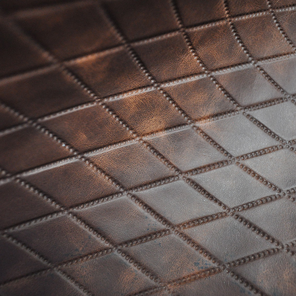 Whole Hides Embossed leather Upholstery navy Embossed leather for furniture coverings Nautical Navy Embossed leather Cowhide Embossed